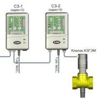 Газоанализаторы Система автономного контроля загазованности(САКЗ)