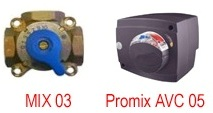 Оборудование для систем отопления 3х ходовые смесительные клапана VALTEC под электропривод (сервопривод)