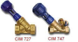 Оборудование для систем отопления Ручные балансировочные клапаны Cimberio (муфтовый)