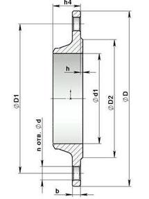 Фланцы Фланцы стальные приварные воротниковые Ру16 Ст20 ГОСТ 12821-80 штампованные