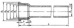 Чугунная канализация ЧК Трубы канализационные ЧК