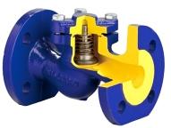 Чугунные Клапаны обратный пружинный (подъемный)