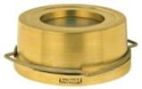 Латунные / бронзовые Клапаны обратные дисковые пружинные RK 41