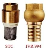 Латунные / бронзовые Клапаны с фильтром