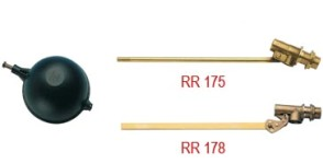 Клапаны поплавковые Клапаны поплавковые RR175/RR178